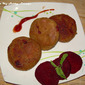 Beetroot Cutlet / Tikki / Pattice